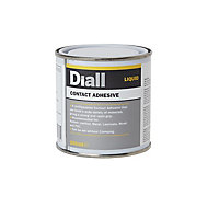 Diall Solvent-based Cream Liquid Contact adhesive, 250ml