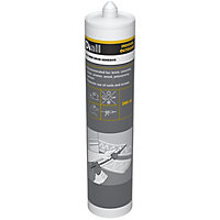 Diall Solvent-free Polymer-based White Multi-purpose Grab adhesive 280ml