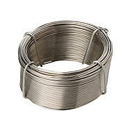 Diall Stainless steel Wire, (L)50m (Dia)0.8mm