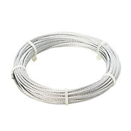 Diall Steel Cable, (L)10m (Dia)2mm