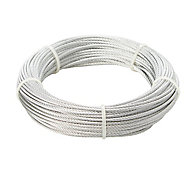 Diall Steel Cable, (L)20m (Dia)2mm