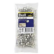 Diall UPVC nail (L)30mm (Dia)2mm, Pack