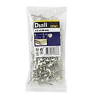 Diall UPVC nail (L)40mm (Dia)2mm 125g, Pack