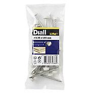 Diall UPVC nail (L)65mm (Dia)3.35mm, Pack