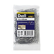 Diall Veneer pin (L)25mm (Dia)1mm 125g, Pack