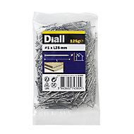 Diall Veneer pin (L)25mm (Dia)1mm, Pack