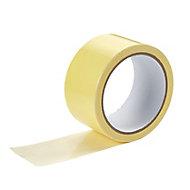 Diall White Carpet Tape (L)10m (W)50mm