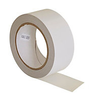 Diall White Carpet Tape (W)48mm