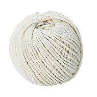 Diall White Cotton Twine, (L)60m (Dia)1.5mm