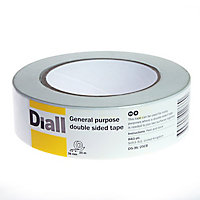 Diall White Double-sided Tape (W)36mm