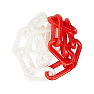 Diall White Plastic Chain, (L)10 (Dia)6mm