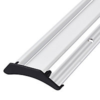 Diall White PVC Rain deflector, (L)1000mm