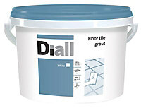 Diall White Ready mixed Floor tile Grout, 3.75kg
