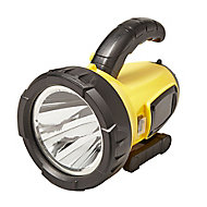 Diall Yellow Plastic 500lm Torch