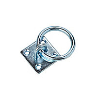 Diall Zinc-plated Steel Ring on plate