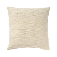 Diamond Woven Beige Cushion