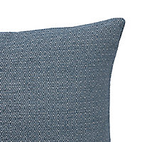 Digga Diamond Blue Cushion (L)30cm x (W)50cm