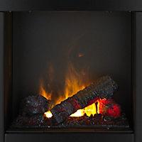 Dimplex Burnham White Ivory effect Electric Fire suite