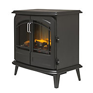 Dimplex Cassia noir optiflame Black Electric Stove