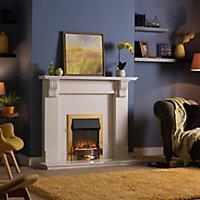 Dimplex Optiflame Brass effect Electric Fire