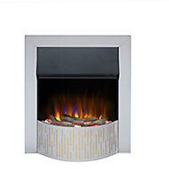 Dimplex Optiflame Gorstan Chrome effect Electric Fire