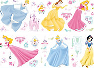 Disney Princess Multicolour Self-adhesive Wall sticker (L)700mm (W)250mm