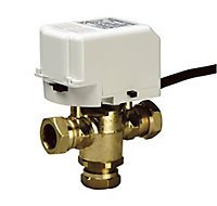 Drayton Compression Motorised valve (Dia)22mm