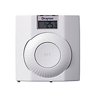 Drayton Thermostat White