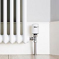 Drayton Wiser White Angled Thermostatic Radiator valve