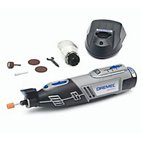 Dremel 12V Cordless Multi tool 1 battery 8220