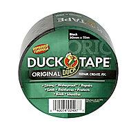 Duck Black Duct Tape (L)25m (W)50mm