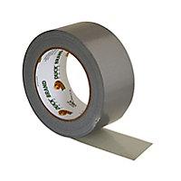 Duck Silver effect Duct Tape (L)25m (W)50mm