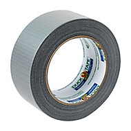 Duck Silver effect Gaffer Tape (L)25m (W)50mm, Pack of 2