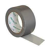 Duck Silver effect Tape (L)25m (W)50mm