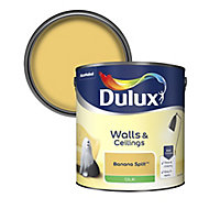 Dulux Banana split Silk Emulsion paint 2.5L