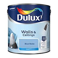 Dulux Blue babe Matt Emulsion paint, 2.5L