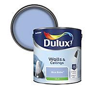 Dulux Blue babe Silk Emulsion paint, 2.5L