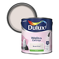 Dulux Blush pink Silk Emulsion paint 2.5L