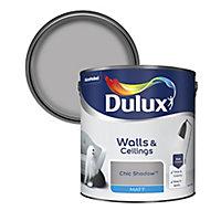 Dulux Chic shadow Matt Emulsion paint, 2.5L