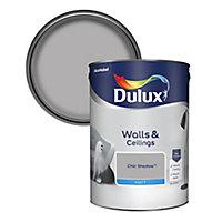 Dulux Chic shadow Matt Emulsion paint, 5L