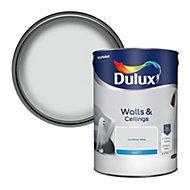 Dulux Cornflower white Matt Emulsion paint, 5L