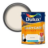 Dulux Easycare Almond white Matt Emulsion paint, 5L