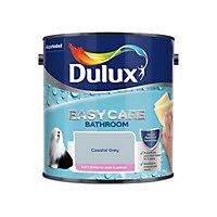 Dulux Easycare Bathroom Coastal grey Soft sheen Emulsion paint, 2.5L