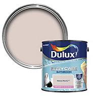 Dulux Easycare Bathroom Mellow mocha Soft sheen Emulsion paint, 2.5L