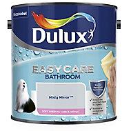 Dulux Easycare Bathroom Misty mirror Soft sheen Emulsion paint 2.5L