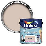 Dulux Easycare Bathroom Soft stone Soft sheen Emulsion paint, 2.5L