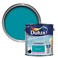 Dulux Easycare Bathroom Teal touch Soft sheen Emulsion paint, 2.5L