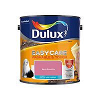 Dulux Easycare Berry smoothie Matt Emulsion paint, 2.5L