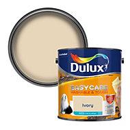 Dulux Easycare Ivory Matt Emulsion paint, 2.5L