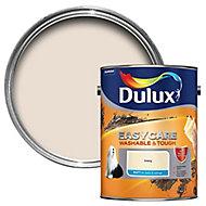 Dulux Easycare Ivory Matt Emulsion paint, 5L